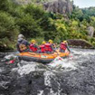 whitewater in the Auvergne